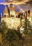 Draculas Kleie-Schloss, Siebenbürgen, Rumänien, Europa lizenzfreies stockbild