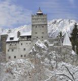 Draculas Kleie-Schloss, Transylvanien, Rumänien lizenzfreies stockfoto