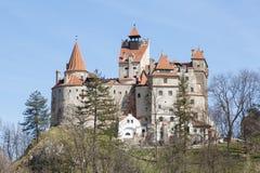 Draculas Schloss Stockbild