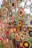 Draden van kleurrijke lokaal Royalty-vrije Stock Afbeeldingen