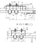 Draft background. A set of architectural construction document, engineering background Stock Image