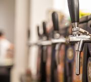 Draft beer brazilian party event. Pub Stock Image