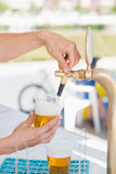 Draft beer pour Stock Photo