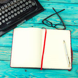 Draft notes writer. Royalty Free Stock Images
