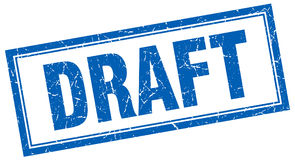 Draft stamp Stock Photography
