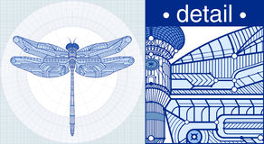 Draftdragonfly Stock Images