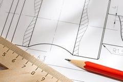 Drafting instrument Stock Photos