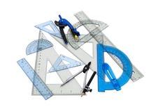 Drafting tools Royalty Free Stock Photos