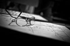 Draftsmans skrivbord Arkivbilder