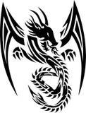 Dragão 01 de Triba Imagem de Stock