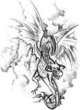Dragão (2) .jpg Imagem de Stock Royalty Free