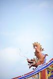 Dragão alaranjado Imagens de Stock Royalty Free