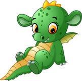 Dragão bonito do bebê ilustração stock