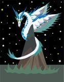 Dragão celestial ilustração stock