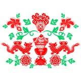 Dragão chinês do ano novo Imagens de Stock Royalty Free