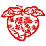 Dragão chinês do ano novo Fotografia de Stock