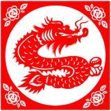 Dragão chinês do ano novo Imagens de Stock