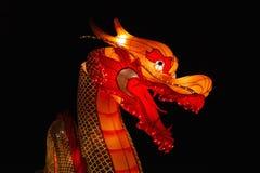 Dragão chinês no festival de lanterna Imagem de Stock Royalty Free