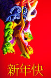 Dragão colorido Fotografia de Stock Royalty Free