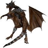 Dragão da batalha Imagem de Stock