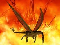 Dragão da fantasia Fotos de Stock Royalty Free