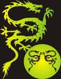 Dragão da fantasia - vetor Imagens de Stock Royalty Free