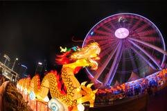 Dragão da roda das balsas Foto de Stock