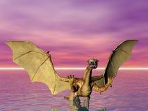 Dragão de água Foto de Stock Royalty Free