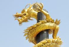 Dragão de aço Foto de Stock Royalty Free