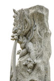 Dragão de pedra Imagens de Stock Royalty Free