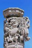 Dragão de pedra Foto de Stock