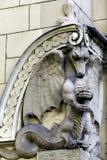 Dragão de pedra, construção de Art Nouveau, equipamento Imagem de Stock Royalty Free