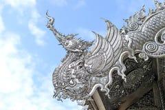 Dragão de prata imagens de stock