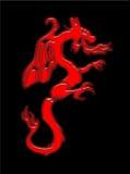 Dragão de respiração do incêndio Imagem de Stock Royalty Free