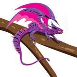 Dragão de Vasilisk. ilustração royalty free