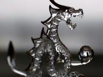Dragão de vidro Fotos de Stock Royalty Free