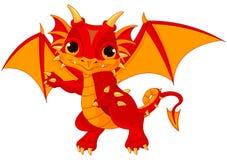Dragão do bebê Fotos de Stock Royalty Free