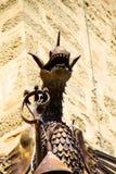 Dragão do castelo de Castiglioncello 01 fotografia de stock