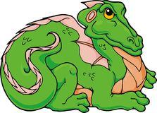Dragão do comedor de rãs Foto de Stock