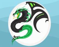Dragão do Cyber Imagens de Stock