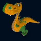 Dragão do luxuoso ilustração do vetor
