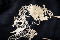 Dragão do ouro Fotografia de Stock