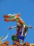 Dragão do templo do templo oficial de Tainan Mazu Imagem de Stock