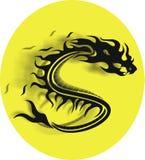Dragão do vetor Foto de Stock Royalty Free