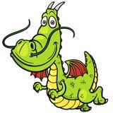 Dragão dos desenhos animados Imagem de Stock Royalty Free