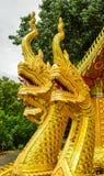 Dragão dourado imagem de stock
