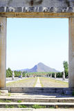 Dragão e porta de Phoenix nos túmulos reais orientais do Qing D Imagens de Stock