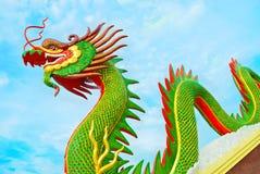 Dragão em Tailândia Fotos de Stock Royalty Free