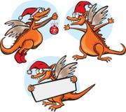 Dragão engraçado dos desenhos animados Fotografia de Stock Royalty Free