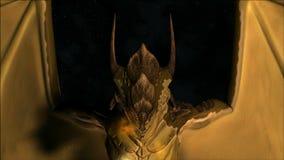 Dragão mágico ilustração royalty free